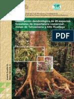 FIchas 26 Especies PDF