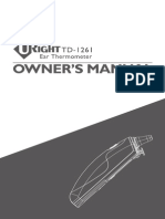 U-RIGHT_TD-1261BDF_owner's manual_311-1261000-016