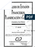Análisis de Estados Financieros, Planificación y Control 3ª ed - CEF
