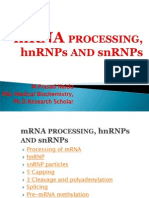 HnRNA Processing