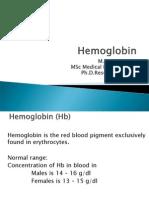 HEAMOGLOBIN