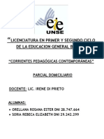 Corrientes Pedagogicassssssssssss