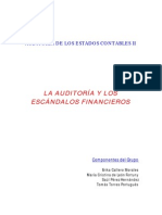 Auditoria y Escandalos