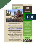 Jamestown Newsletter, March 31, 2014, Issue 9