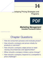 14 CE Chapter 14 - Developing Pricing Strategies