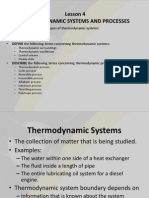 Thermodynamic Systems and Processes