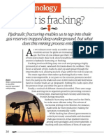 How It WorksHow fracking works