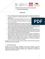 Lineamientos de Operación Reservas territoriales