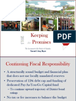 Powerpoint for presentation of the FY2015 budget to the D.C. Council by Mayor Gray