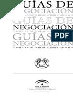 Consejo Andalúz De Relaciones Laborales; Guías De Negociación (2006)