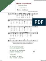 Barco Sin Timon - Cantos de Presencias de Musica