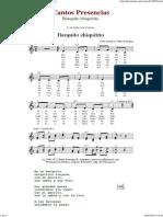 Barquito Chiquitito - Cantos de Presencias de Musica