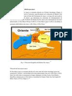 Ubicación geográfica del distrito gas anaco