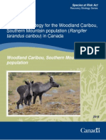 The Government of Canada's proposed woodland caribou recovery plan, 2014