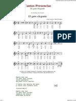 El Gato Elegante - Cantos de Presencias de Musica