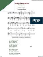 Flauta de Pan - Cantos de Presencias de Musica