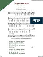 Ninos Traviesos - Cantos de Presencias de Musica