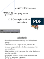 Alcohols Ether Carboxylic Acids