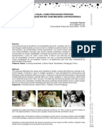 Charreu, L. (2013) a Cultura Visual Como Pedagogia Profana