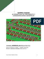Barrio Ciudad - Cuadernillo
