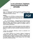 Constitution de la DTCAM