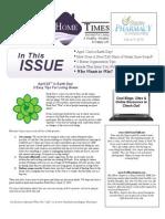 Stapley Pharmacy April 2014 Newsletter