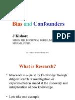 Bias Confonder PG Lecture Series
