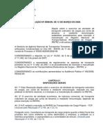 resolução_3056 RNTRC ANTT