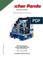 Fischer Panda 4500 FCB Manual