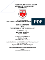 Free Space Optics