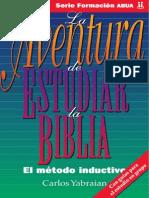 Carlos Yabraian - LA AVENTURA DE ESTUDIAR LA BIBLIA EL METODO INDUCTIVO.pdf