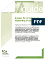 GUIDE Liquor Advertising and Marketing Practices