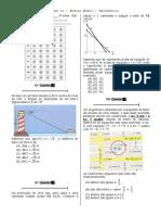 Simulado 11 (Mat. 3ª série - EM)