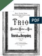 Herzogenberg, Heinrich von - Trio Op.61, score.pdf