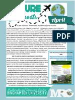 MRC April Newsletter 2014