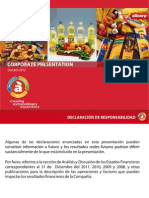 Corporate Presentation Espanol 250912