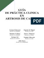 Guia Practica Clinica Artrosis de Cadera SERMEF 2004