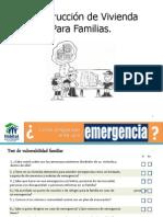 Mapa de Construccion de Vivienda Para Familias
