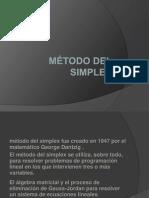 método del simplex