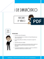 Prueba de Diagnostico Historia 2basico 2013 (1)
