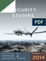 2014 Security Studies Booklet