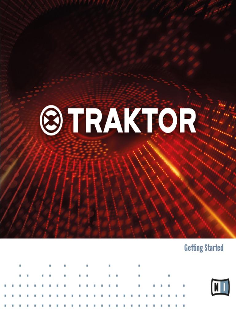 Traktor 2 Getting Started English Manual | I Tunes