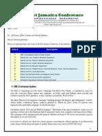 Communication Advisory for April 5 -2014