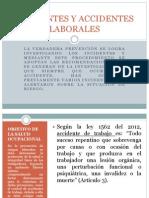 Incidentes y Accidentes Laborales
