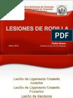 Lesiones de Rodilla II - Nadine