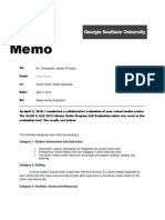 Media Center Evaluation