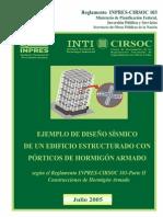 Ejemplo IC 103 II Porticos