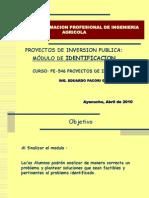 Modulo Identificacion-2009 II