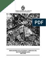 2005 Publicaci%F3n Indicadores Inmobiliarios