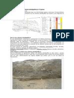 Construcción de una columna estratigráfica en 13